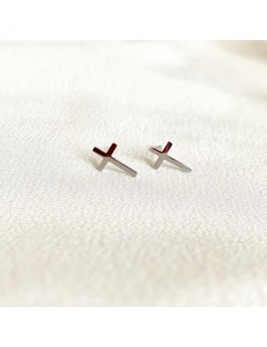 Kolczyki z krzyżykami
