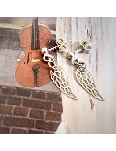 Kolczyki ze skrzydłami